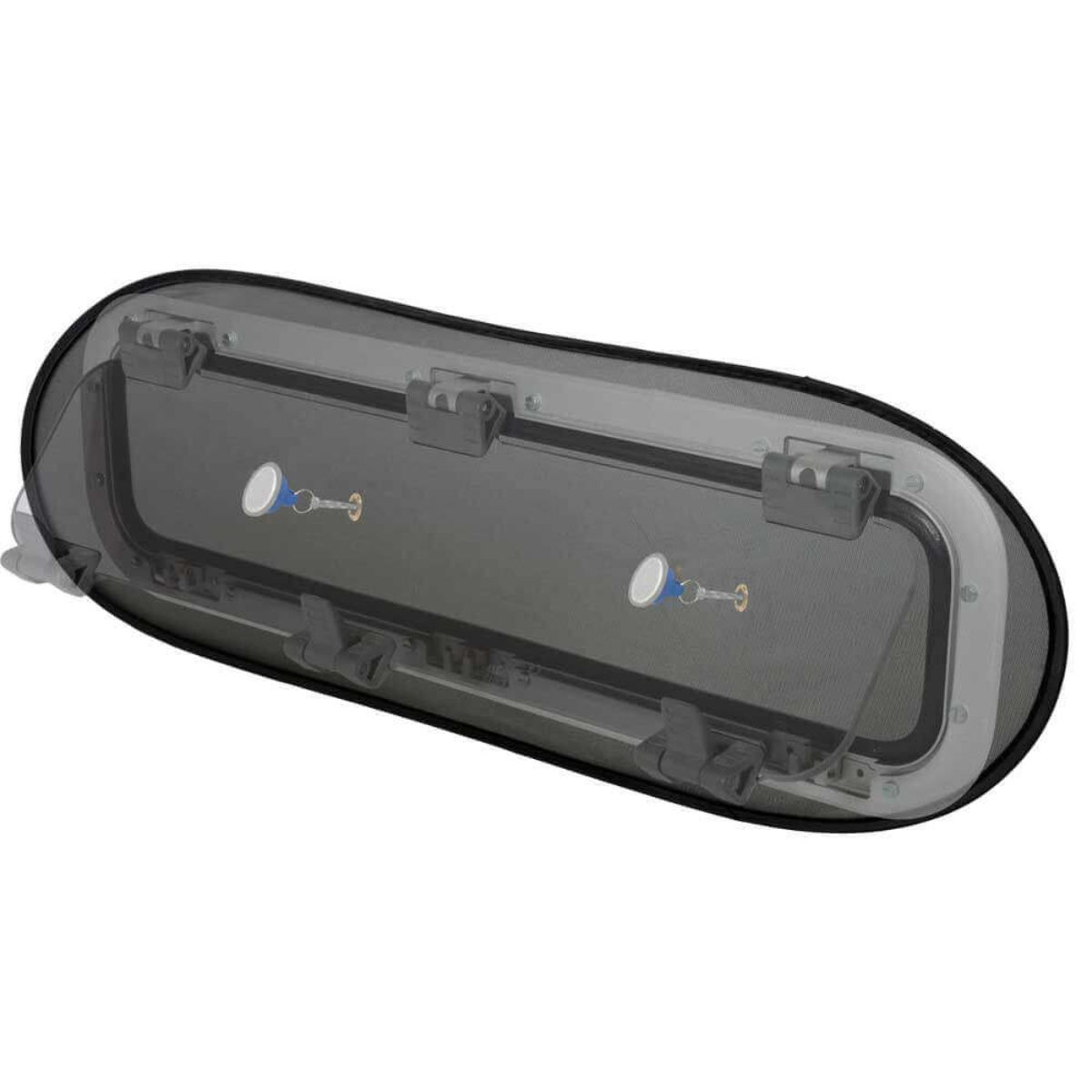 Mounts from the Inside with Magnet 2-pack. Bug Screens for Boat Portlights//windows by Waterline Design Art nr 1430 Mosquito Net in Universal Size Fits all Brands